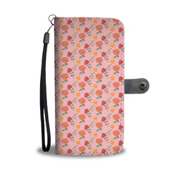 Floral Wallet Phone Case - Roses Bloom