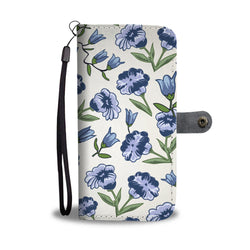 Floral Wallet Phone Case - Forget Me Not
