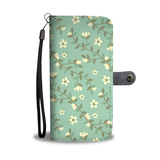 Floral Wallet Phone Case - Allure Aura
