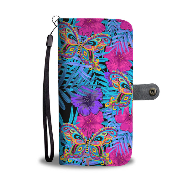 Butterfly Wallet Phone Case - Avatar