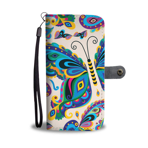 Butterfly Wallet Phone Case - Allure