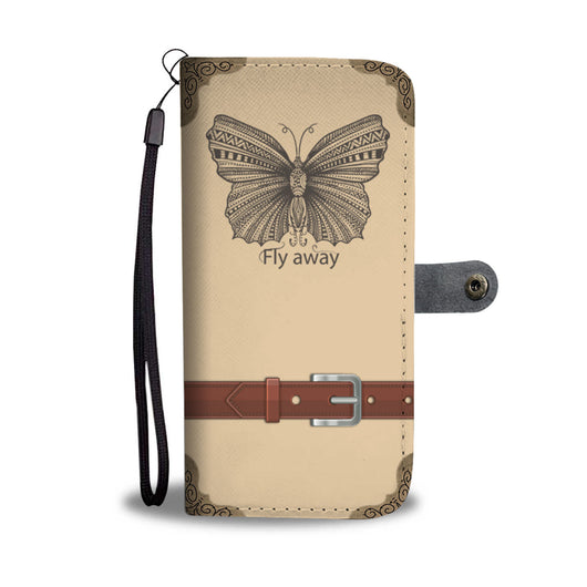 Butterfly Wallet Phone Case - Fly Away