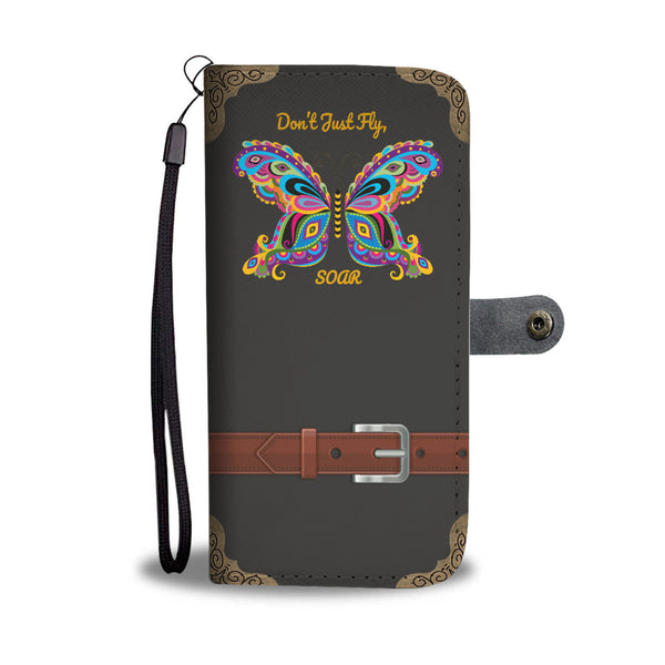 Butterfly Wallet Phone Case - Soar