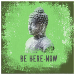 Mindfulness Canvas - Be here now