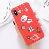 Red-Christmas iPhone Case
