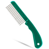 Hair Doctor Extra-Long Tooth Comb with silky smooth rotating stainless-steel teeth