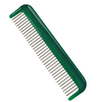 "Hair Doctor Ladies 5"" Comb with Silky Smooth Rotating Stainless Steel Teeth to Reduce Hair Loss and Damage"