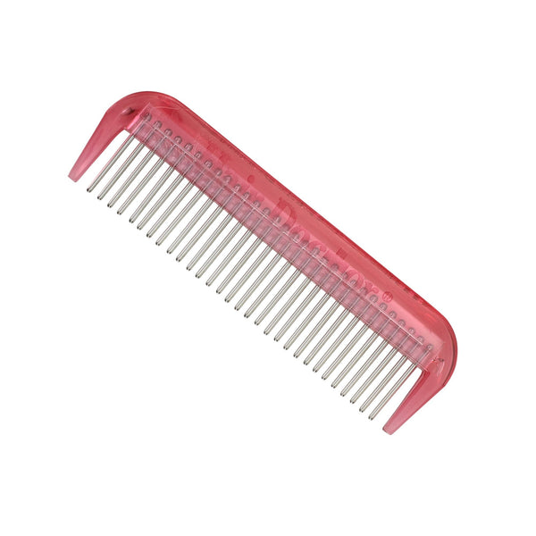 "Hair Doctor 4"" Mini-Comb with silky smooth rotating stainless-steel teeth reduces hair loss and breakage"