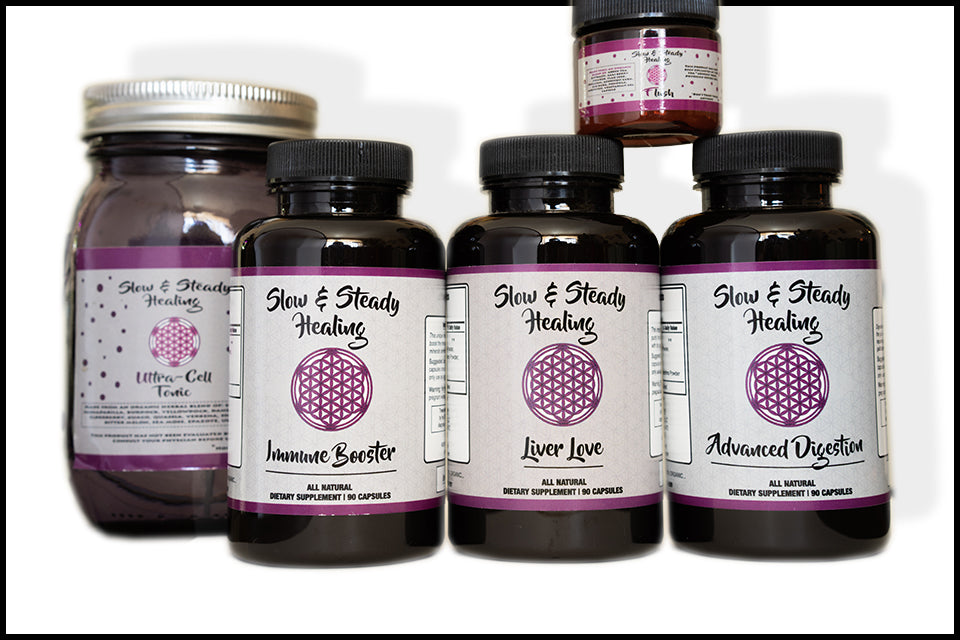 Full Body Detox Kit - Slow & Steady Healing,  - organic detoxification supplements
