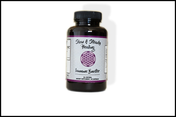 Immune Booster - Slow & Steady Healing, Supplement - organic detoxification supplements