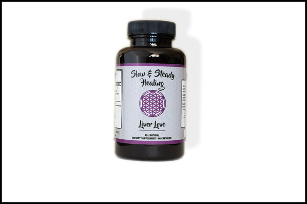 Liver Love - Slow & Steady Healing, Supplement - organic detoxification supplements