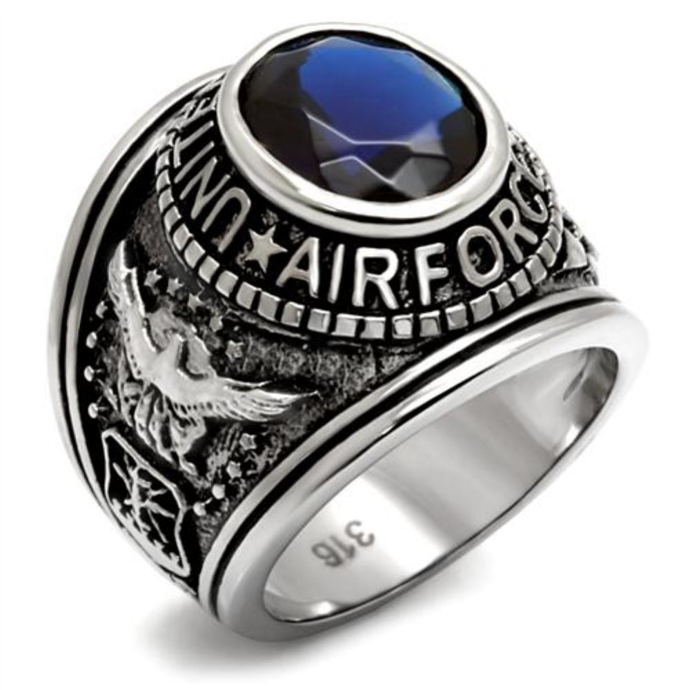 Stainless steel bague homme mens unisex rings High quality American Military Air force finger ring anel feminino The Best gift - www.Kashamasha.com