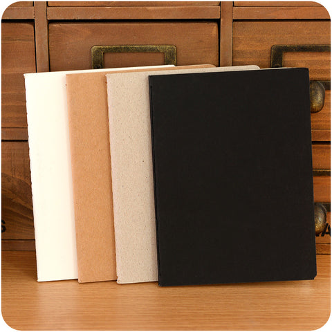 Blank Kraft Paper Notebooks