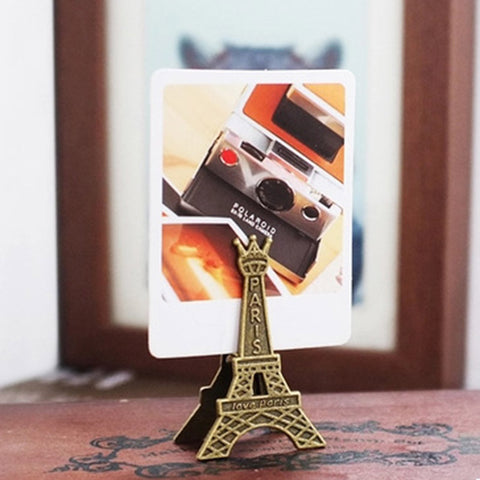 Eiffel Tower Memo Holder