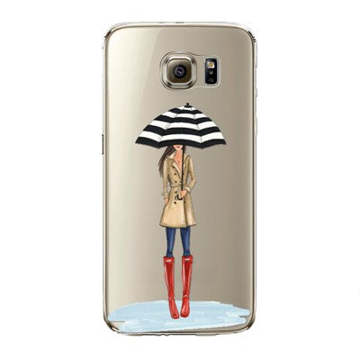 Fashionista in Rain Case