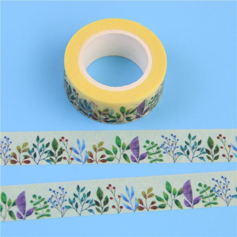 Herbaceous Plant Washi Tape