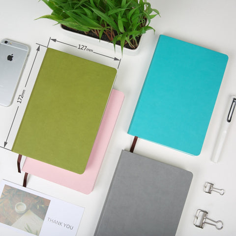 Soft Cover A5 Grid Paper Notebook