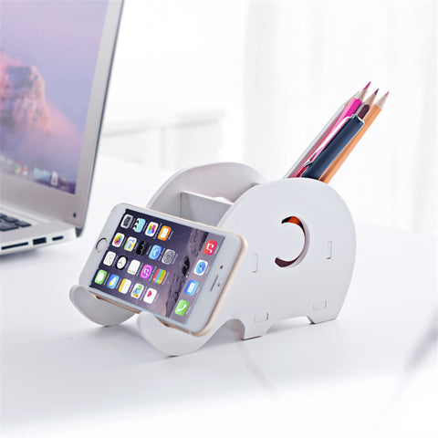 Cute Elephant Phone/ Pen Holder