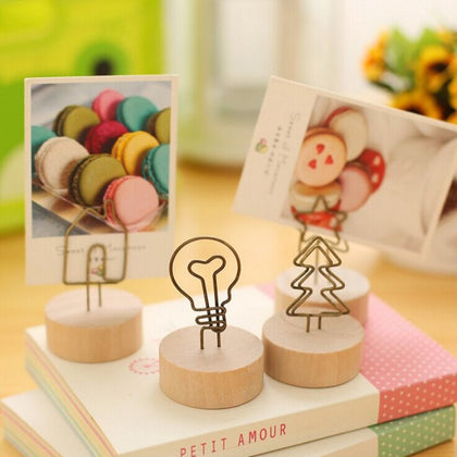 Hooked On Wire Memo Holders