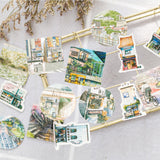 45 Pack Travel Landscape Stickers