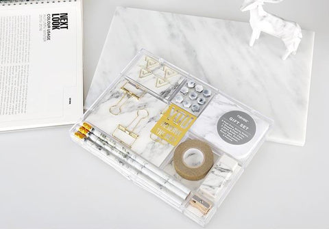 Marble Stationery Gift Set