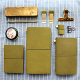 Olive Leather Traveler's Notebook