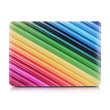Rainbow Pattern Matte Cases for MacBook