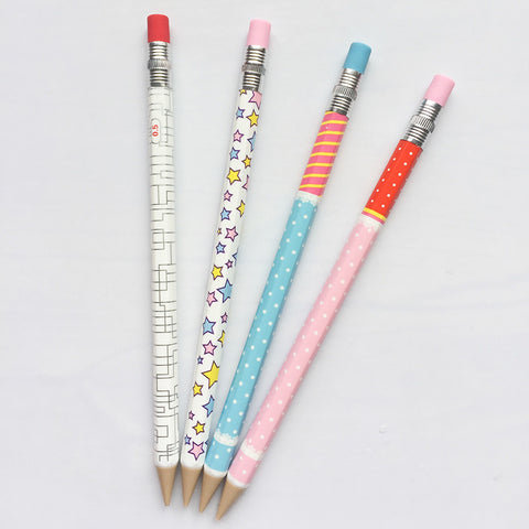4 Pack Doodle Mechanical Pencils