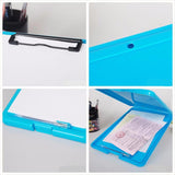 Candy Color Multifunctional Plastic Clipboard