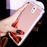 Mirror Plating Soft Case