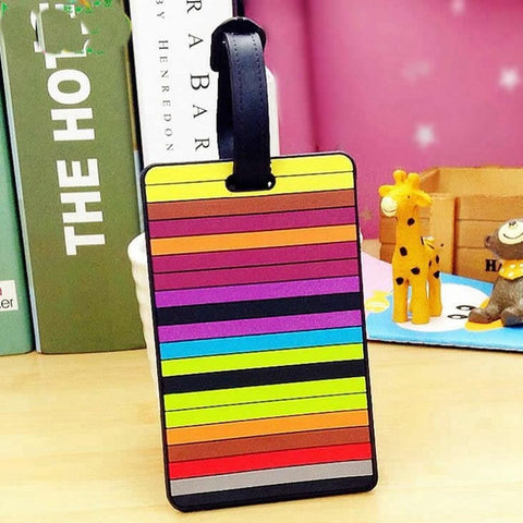 Colorful Luggage Tags