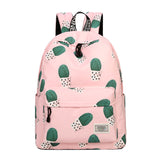 Cactus Print Multi-Functional Shoulder Knapsack