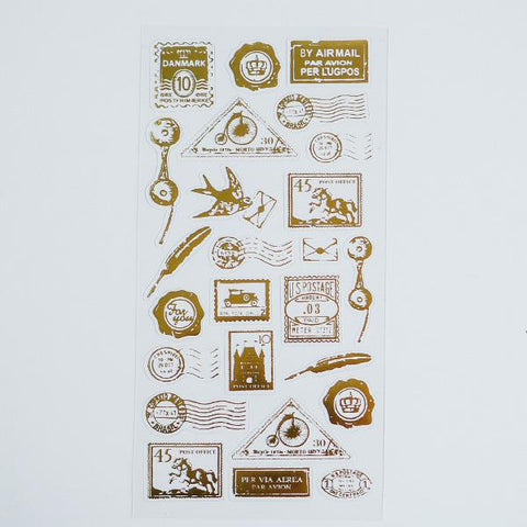Stamp Impression Stickers