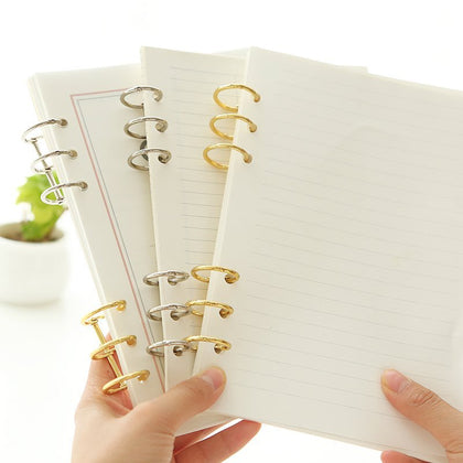 2 Pack Loose Leaf Binding Rings