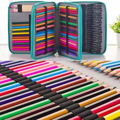 124 Holes (4 Layers) Artist Pencil Case