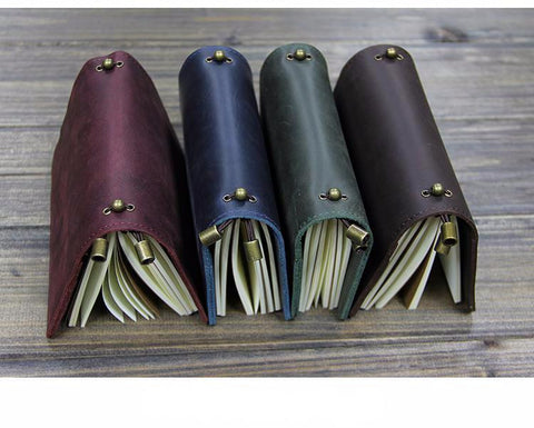 Genuine Leather Multi-function Traveler's Notebook