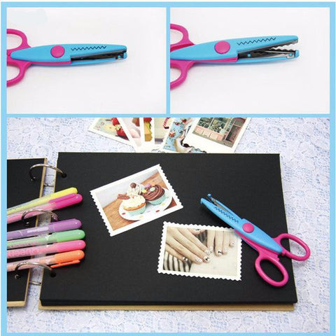 Different Patterned Laciness Scissors