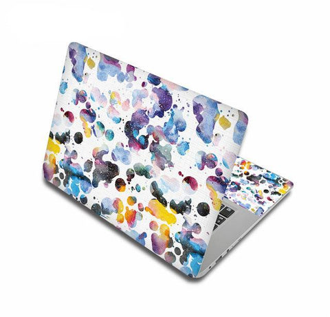 Watercolor Splash Laptop Skin