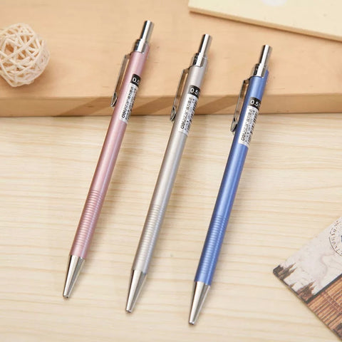 3 Pack Metallic Color Mechanical Pencil
