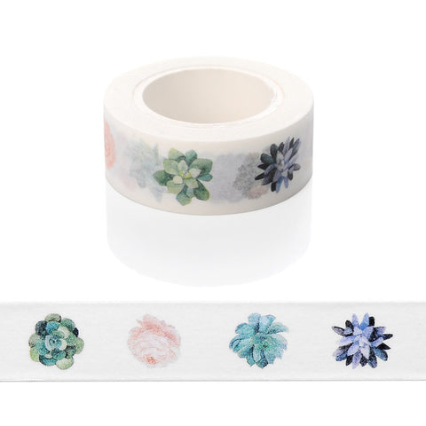 Painted Flowers Washi Tape