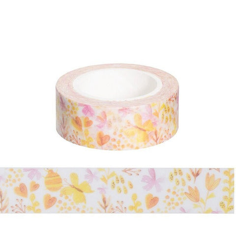 Yellow Garden Washi Tape