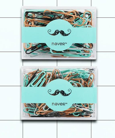 Toned Colors Paper Clips