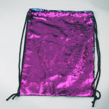 Reversible Sequin Drawstring Bags