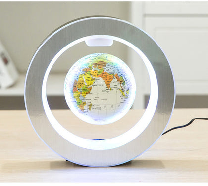 Round Frame Floating Globe