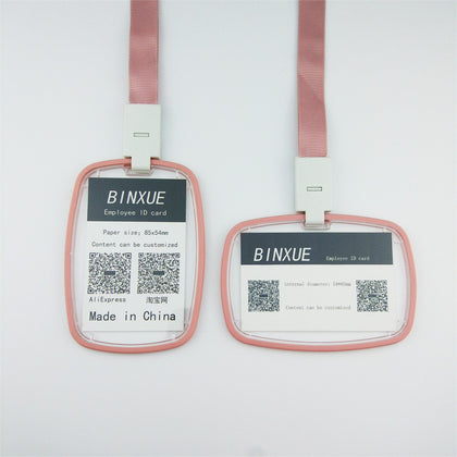 Double Sided ID Badge Holder
