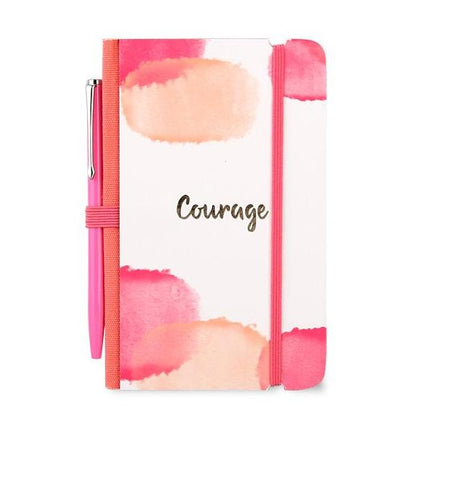 Bleeding Color Courage Mini Journal