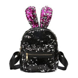 Bunny Ears Sequin Backpacks