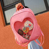 Peek-a-Boo Heart Backpack