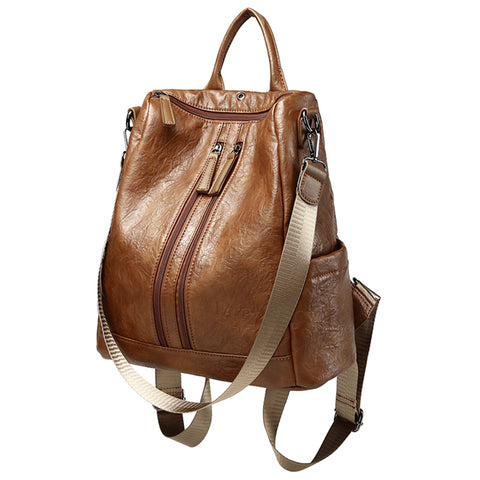 Venture Leather Backpack