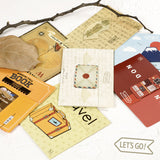 Travel Series Magnetic Bookmarks